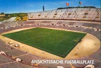 Ansichtssache Fussballplatz