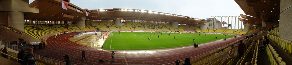 Stade Louis II des AS Monaco, Panorama