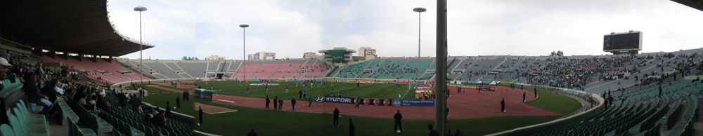Das Stade Mohamed V in Casablanca