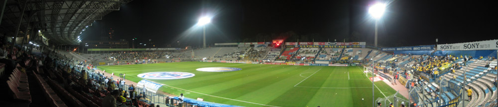 Das Bloomfield Stadium in Tel Aviv