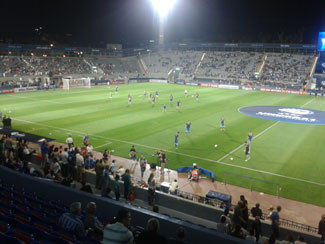 Bloomfield Stadium in Tel Aviv