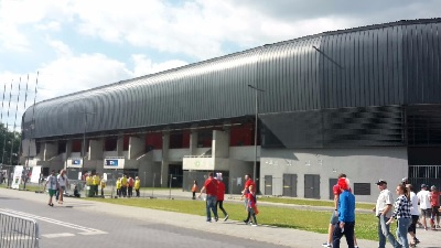 Stadion in Tychy
