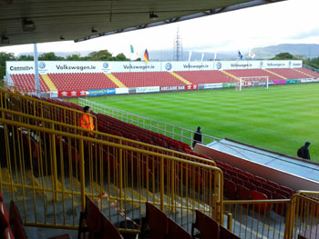 Stadion der Sligo Rovers