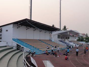 National Stadium in Vientiane